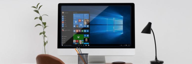 Windows 10 on a Desktop