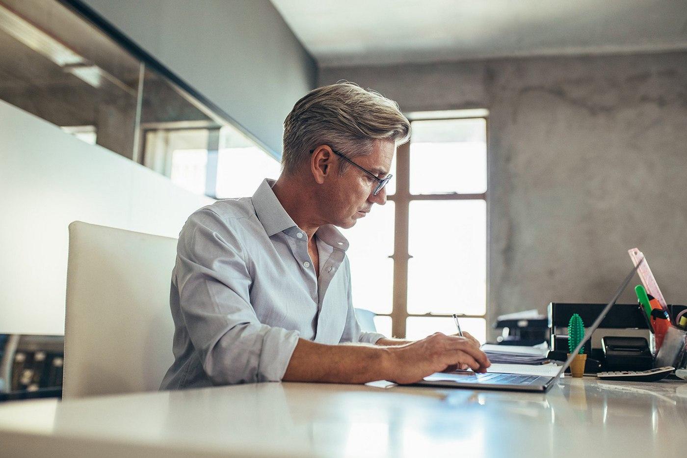 business-man-at-desk